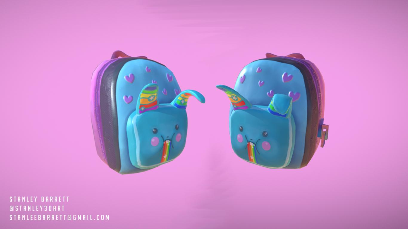 Fortnite Fan Art - Brite Bag by Stanley3DArt | Fan Art | 3D | CGSociety