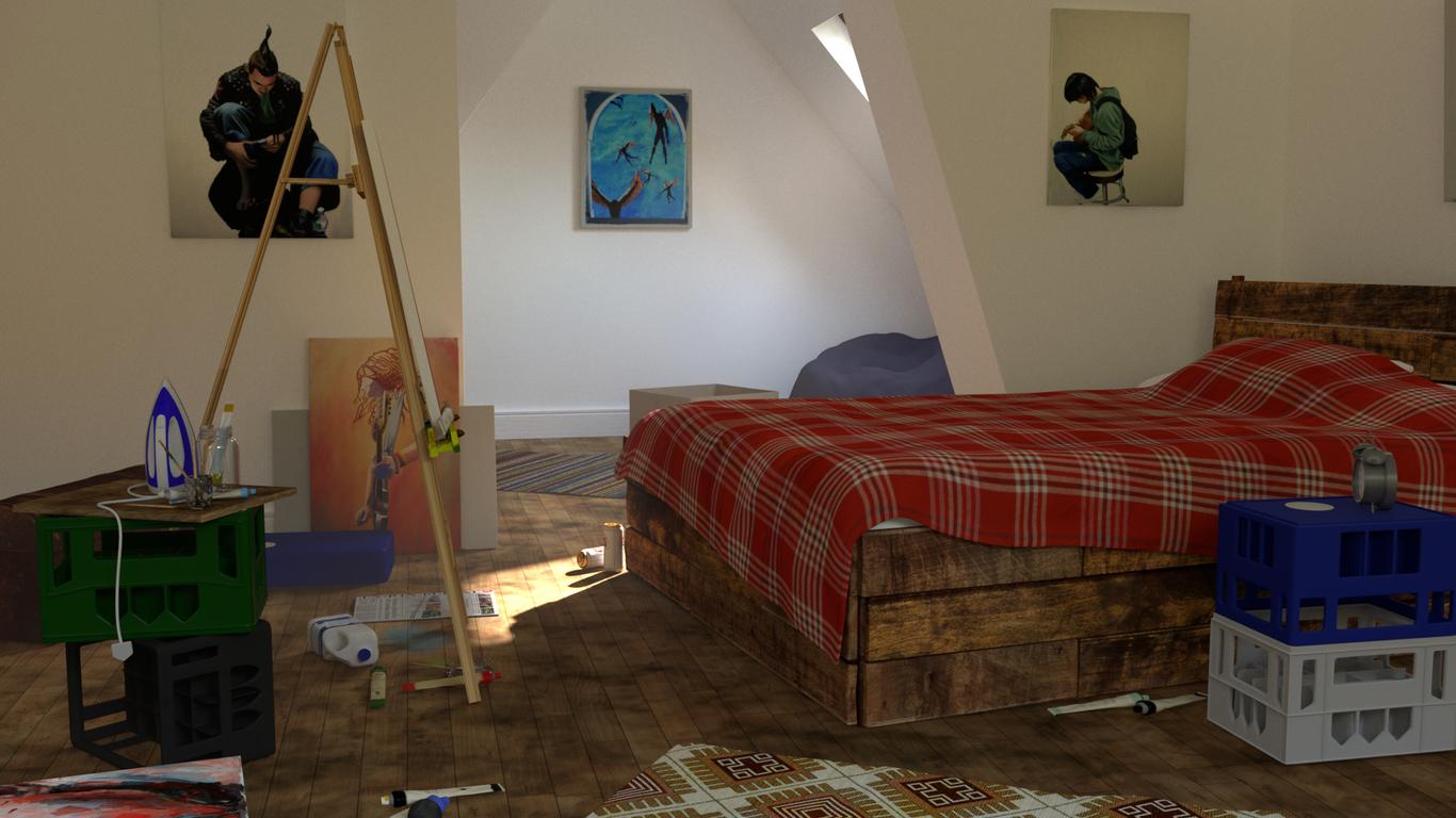 Swiftly1985 artists bedroom 1 48a74ae4 6dmq