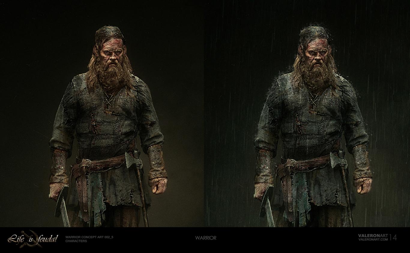 Life is feudal - Warrior