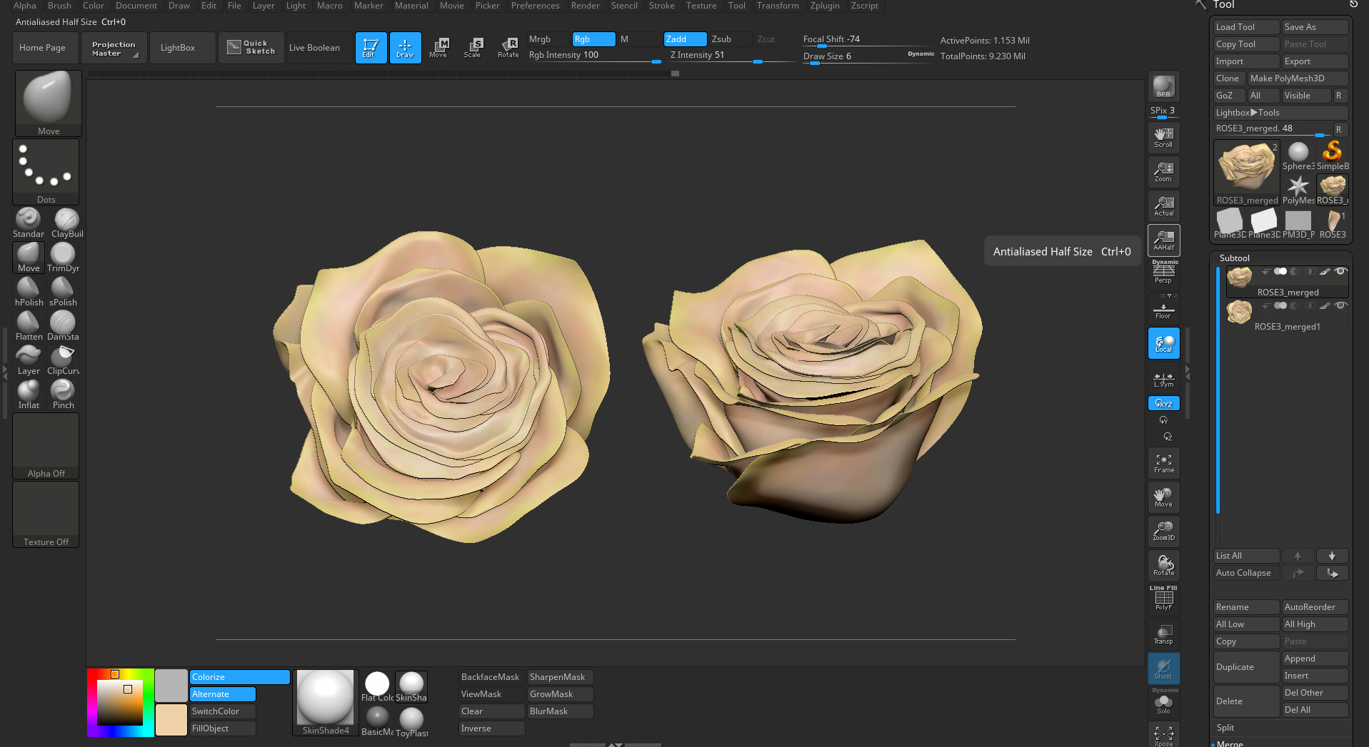 Creating High-Poly Vegetation in ZBrush, with Liz Kirby - article