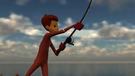 SlowMo Fishing (Animation)